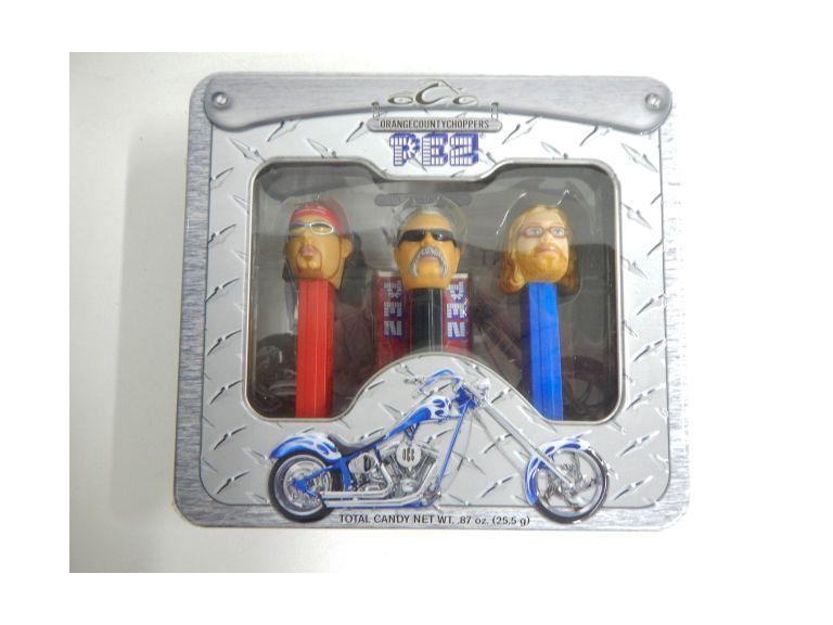 Orange County Choppers Pez Dispensers