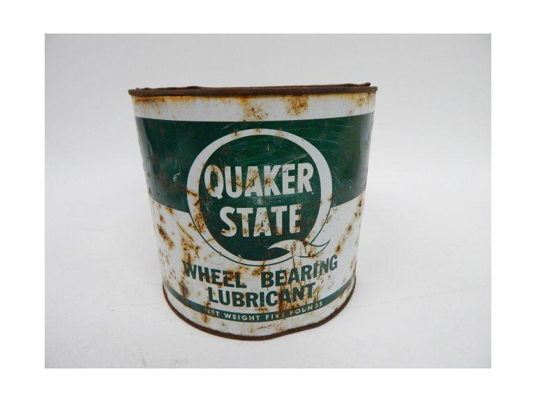 Quaker State Wheel Bearing Can