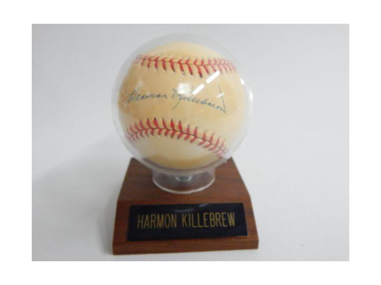 Herman Killebrew Autographed Baseball