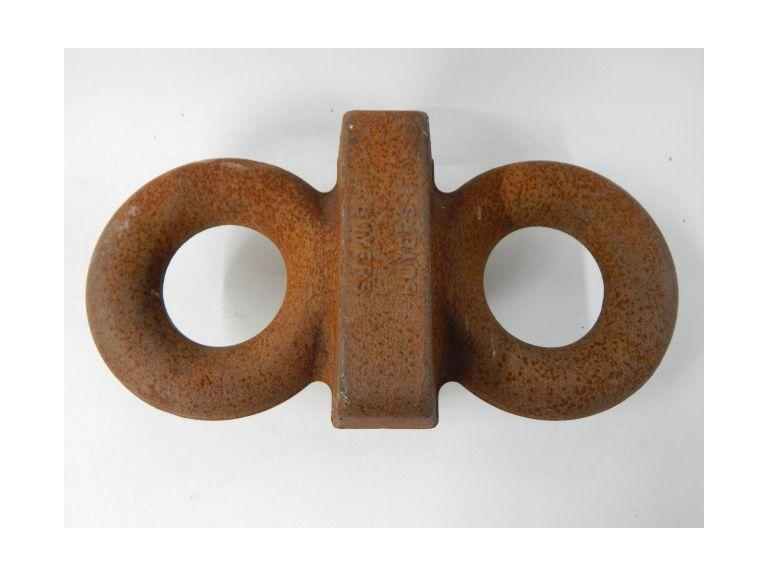 Heavy Duty dual ring Cast Iron Coupler
