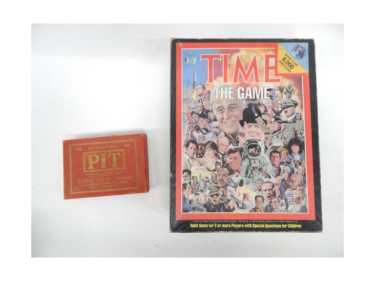 Vintage and Antique Games