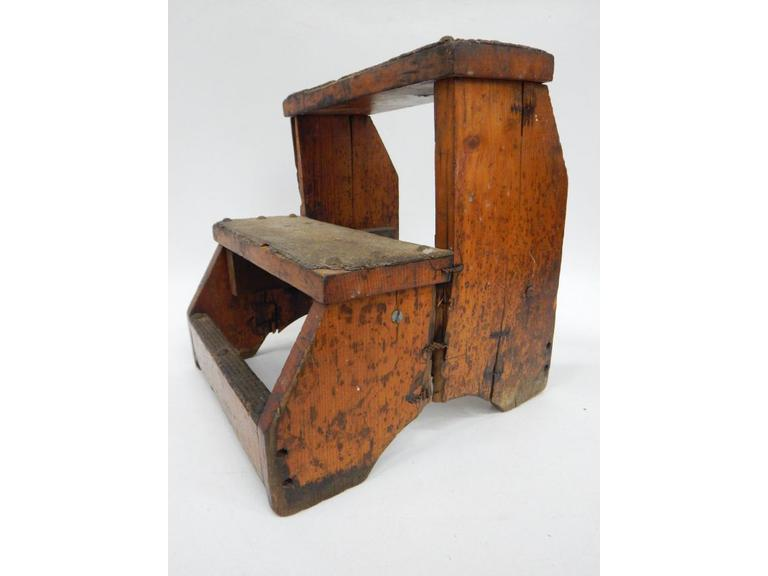 Small Antique Step Stool