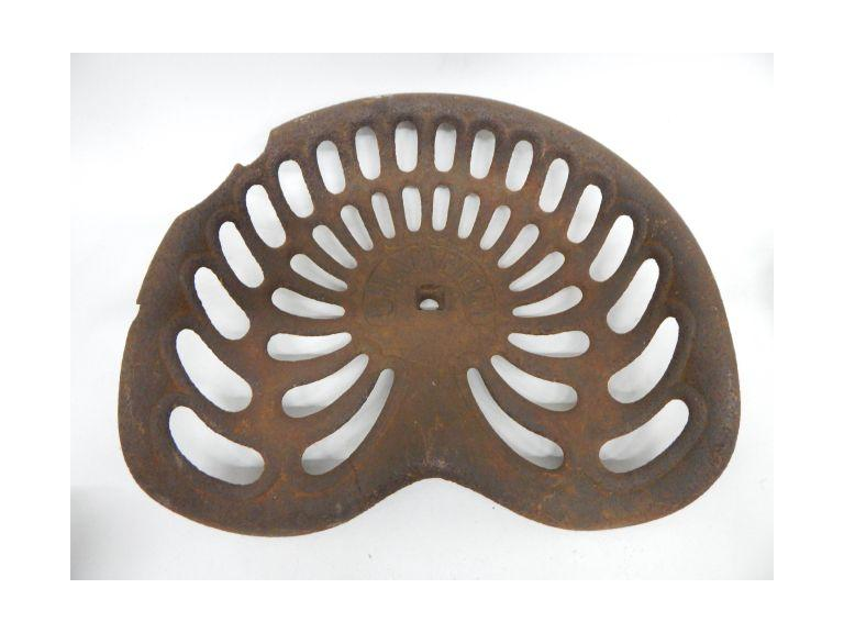 Cast Iron Farm tractor Seat