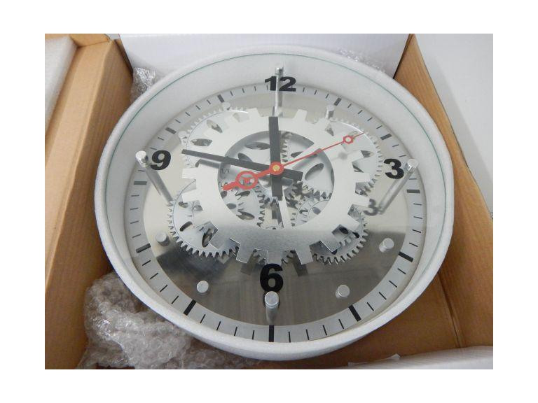 New in the Box Industrial Look Gear Clock