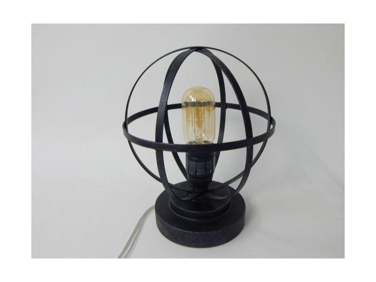 Industrial Style Accent Lamp