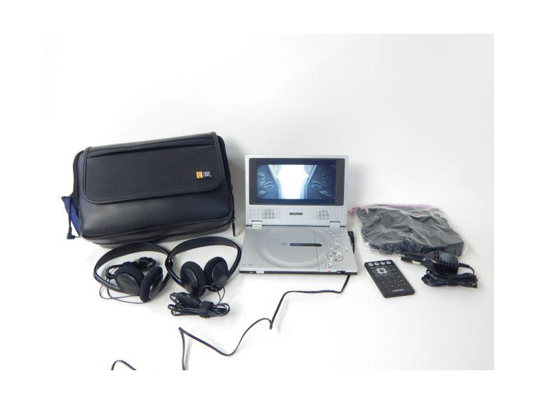 Samsung Portable DVD Player W/Accessories