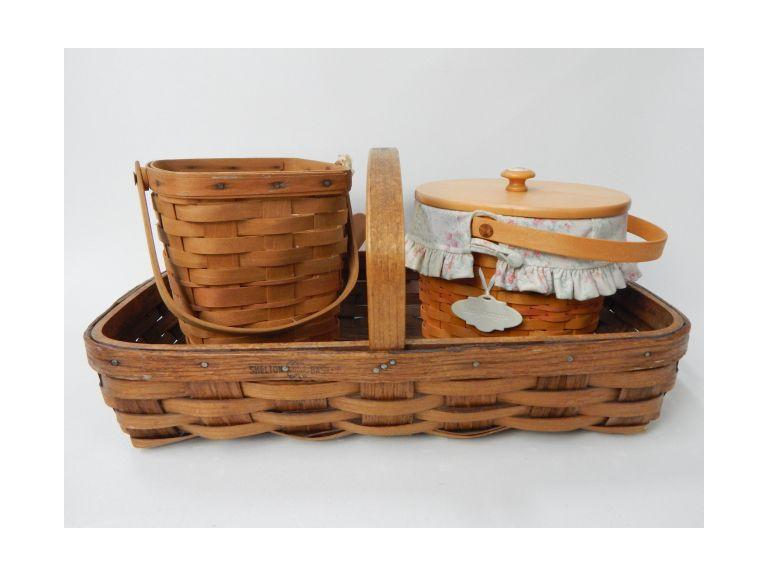 Shelton and Longaberger Baskets