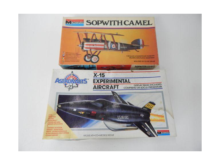 Monogram Airplane Model Kits