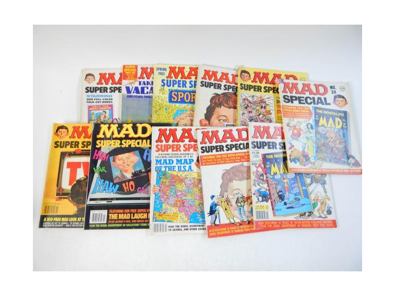 Collection of Super Special Mad Magazines
