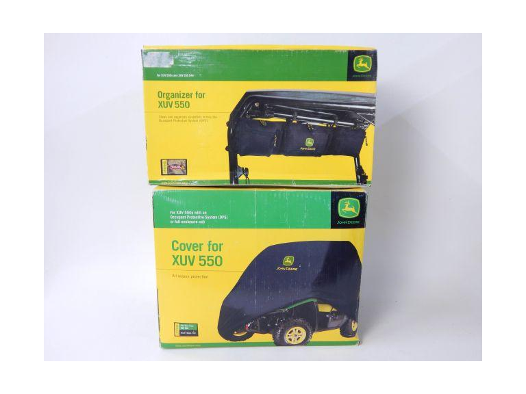 John Deere XUV 550 Cover and Organizer