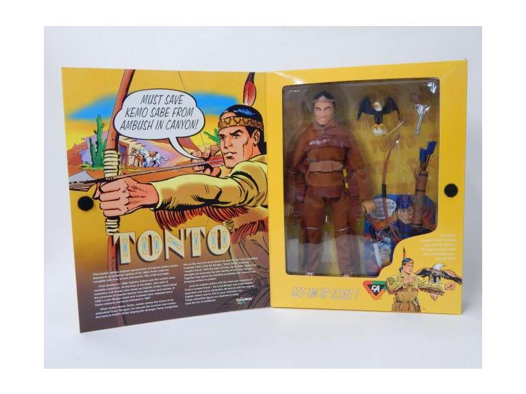 "Captain Action ""Tonto"" Action Figures"
