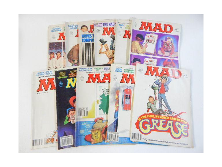 Collection of 1978 & 1979 Mad Magazines
