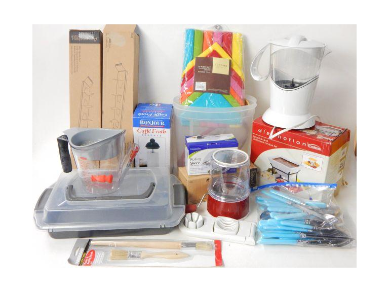 Kitchen Items Box lot
