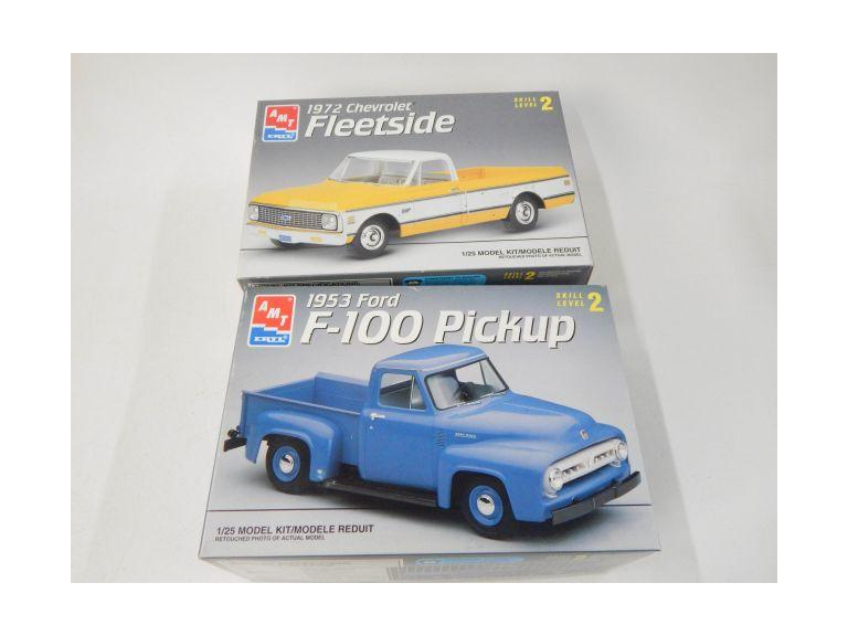 Classic Ford & Chevy Truck Model Kits