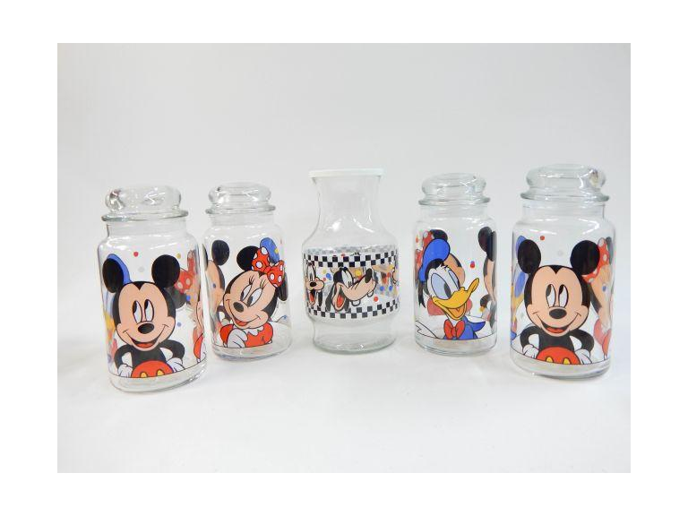 Disney Character Glass Canisters
