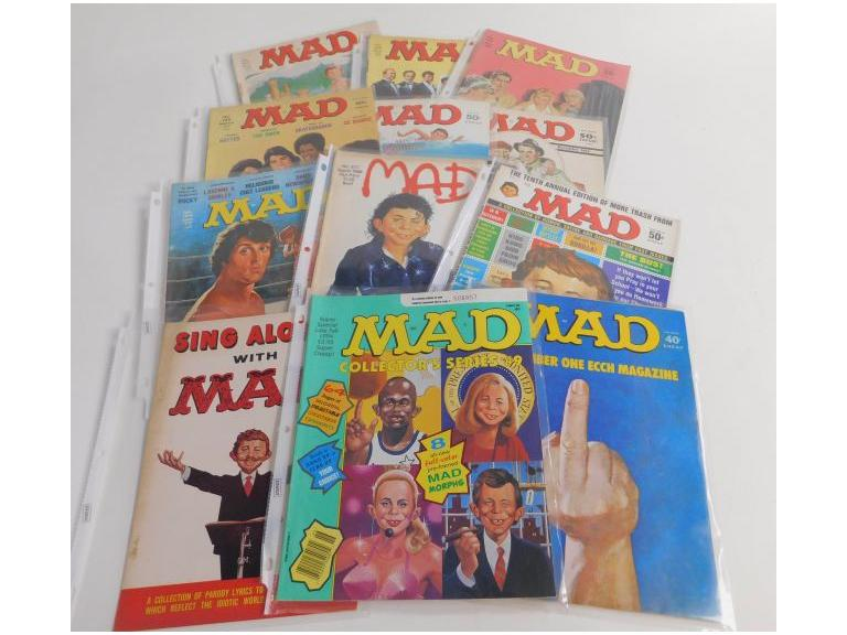 Collection of Mad Magazine's