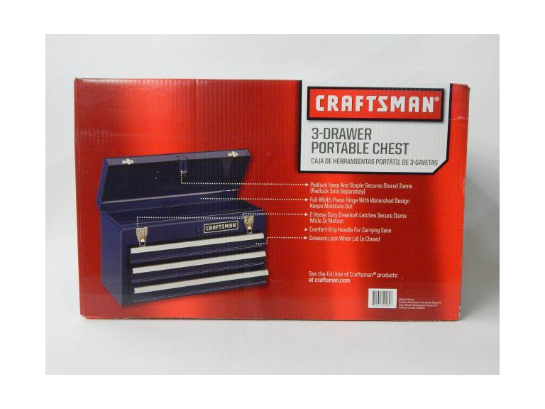 New Craftsman Portable Tool Chest