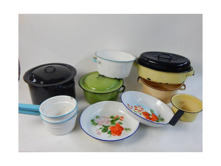Enamelware Pots Collection