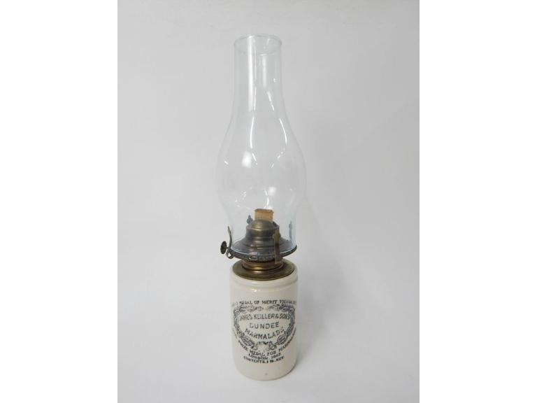 Stoneware Marmalade Jar oil Lamp