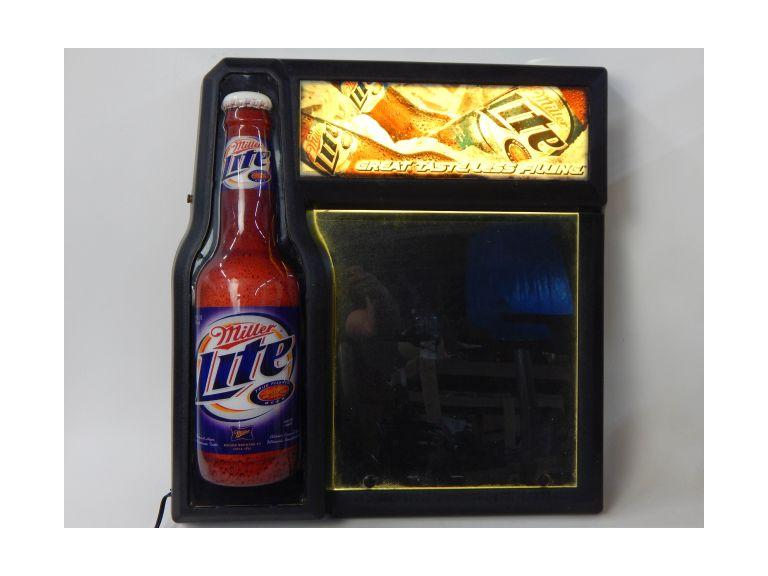 Miller Lite Light-up Message Board