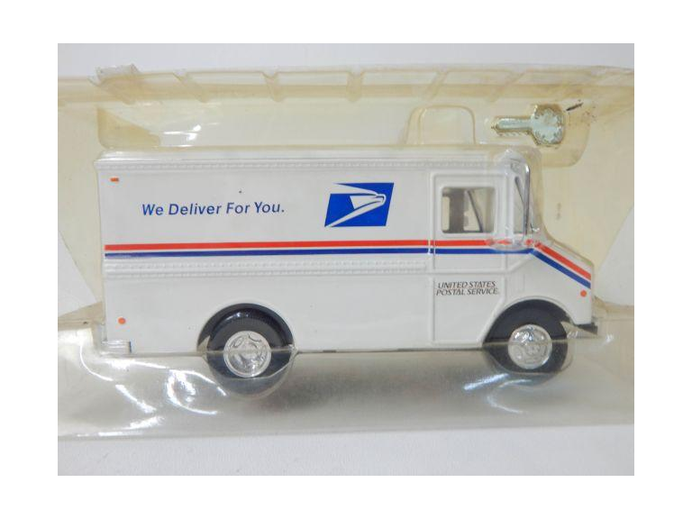 Die-Cast Mail Truck Bank