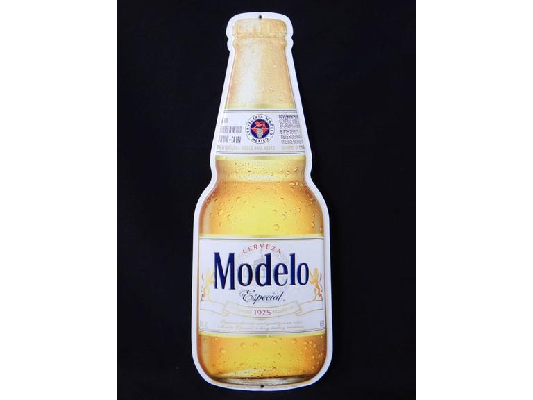 Modelo Cervesa Metal Advertising Sign