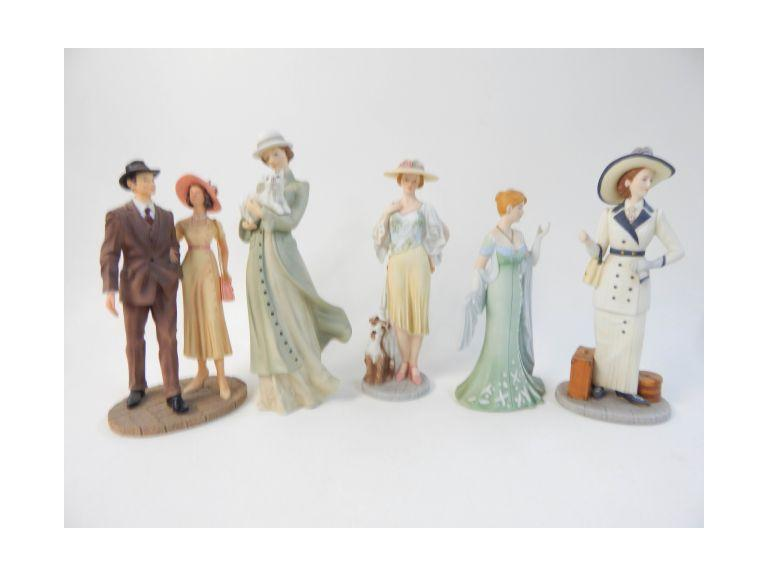 Home Interior Ceramic and Resin Figures