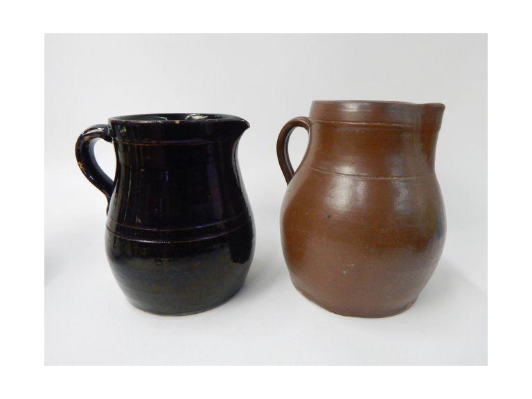 Antique Stoneware Pitchers