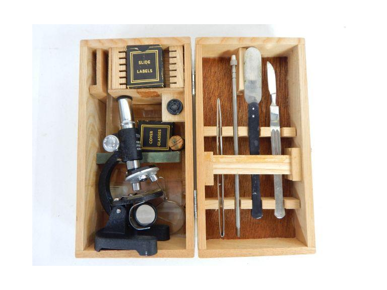 Small Size Microscope Science Set