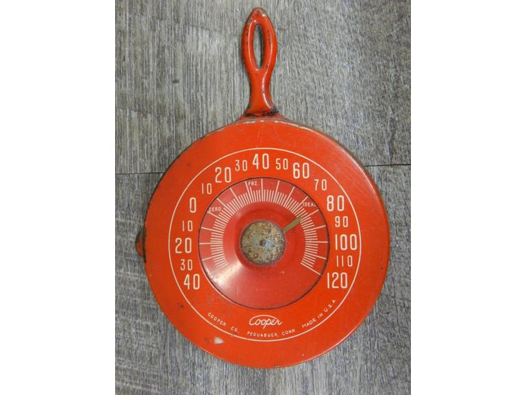 Small Cooper  Steel Thermometer