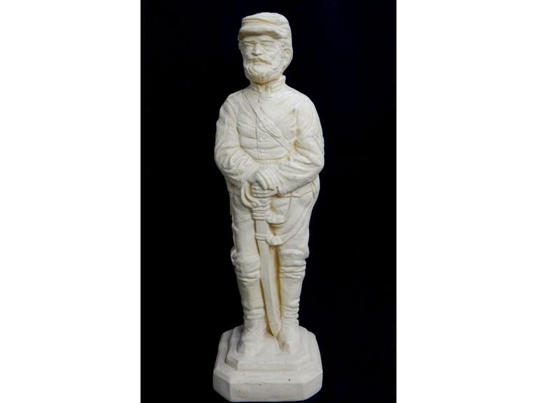 Tall Civil War Soldier Statue