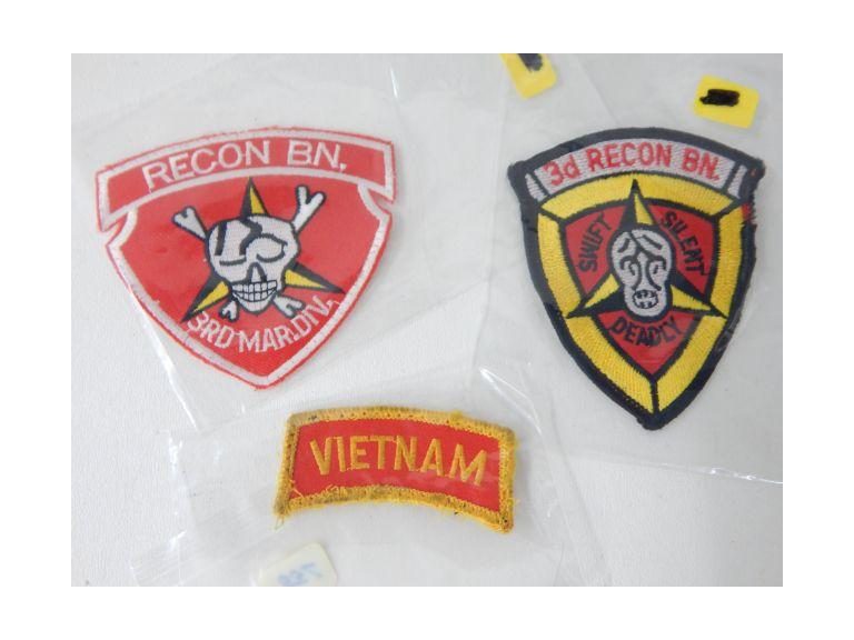 Marine 3rd Recon Bn. Patches