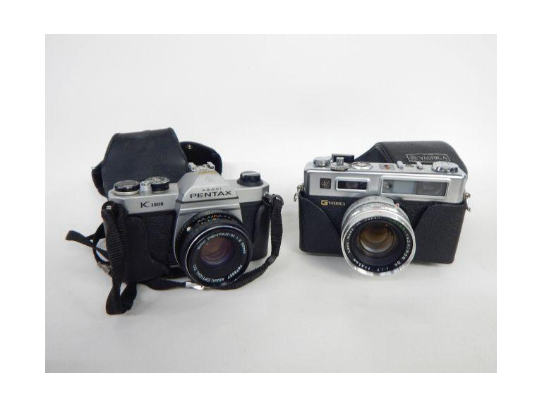 Pentax & Yashica 35mm Film Camera