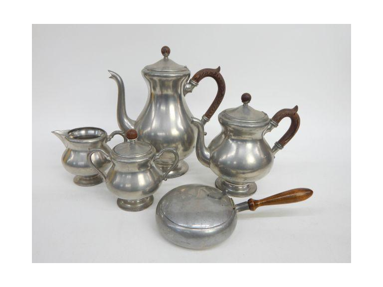 Royal Holland Pewter Tea Set