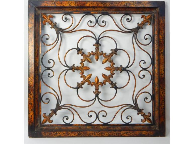 Large Size Metal Art Wall Piece