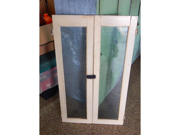 Wooden Framed Glass Cabinet Doors