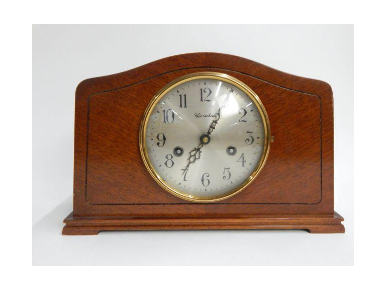 Herschede Key Wind Mantle Clock
