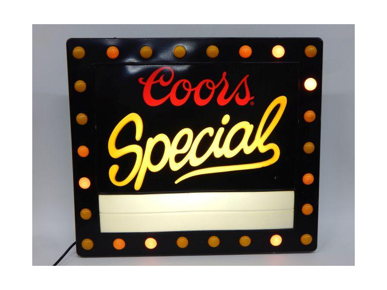 Coors Special Light-Up Sign