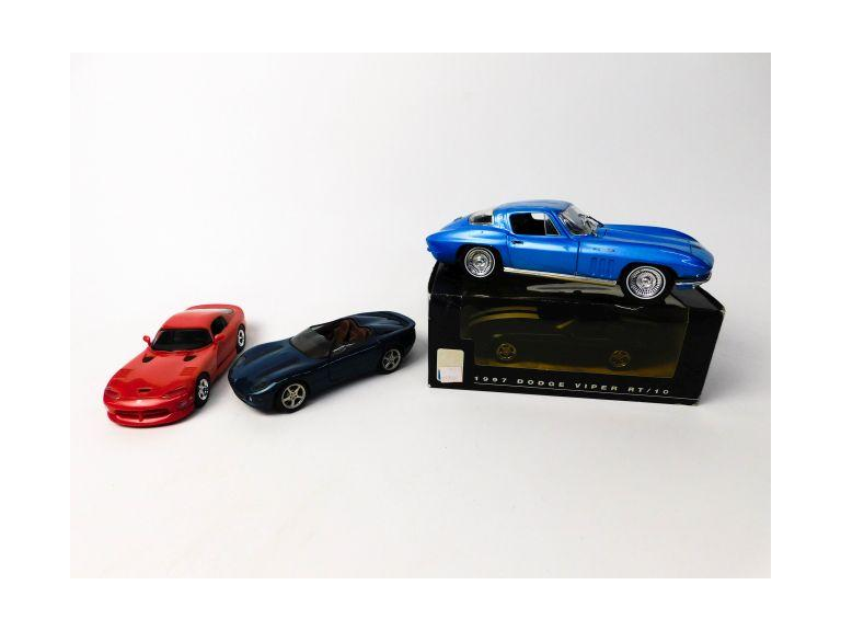 Scale Model Cars (Lot of 4)