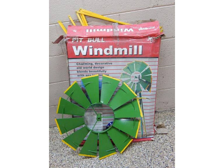 8' Tall Steel Wind Mill Kit