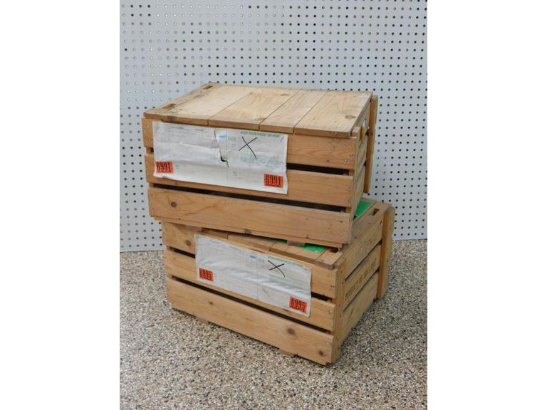 Solid Wood Shipping Crates