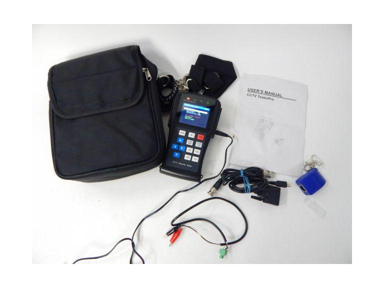 CCTV Tester Pro With Accessories