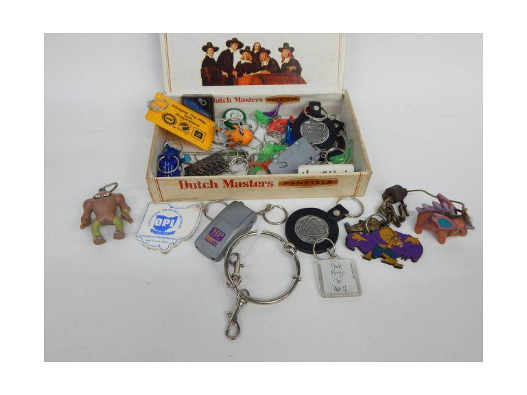 Collection of Various Key Chains