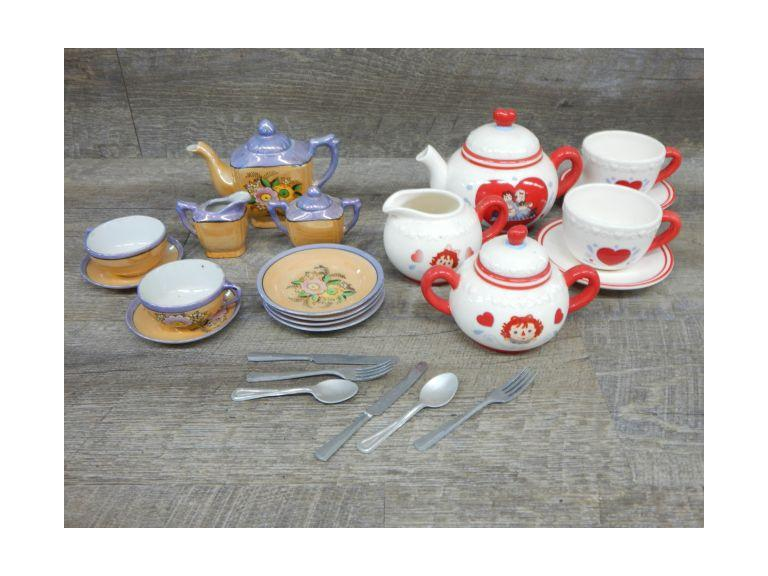 Children's Miniature Tea Sets