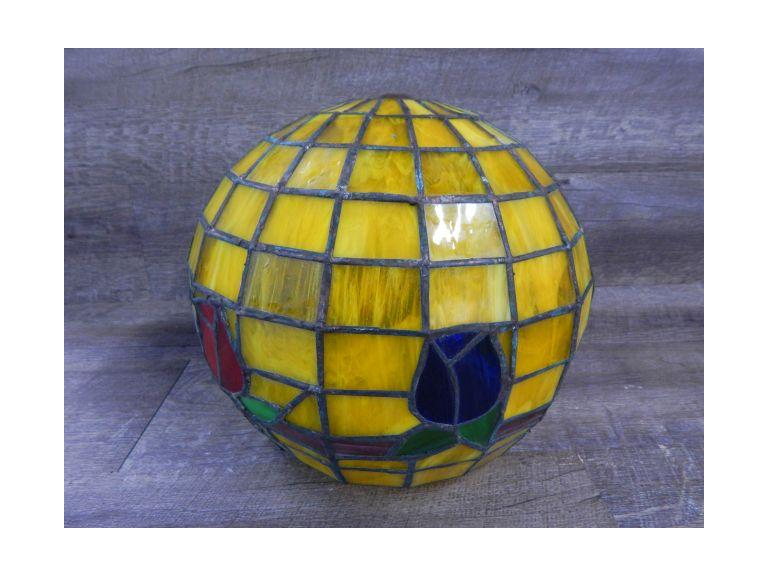 Stained Glass Ball Lamp Shade