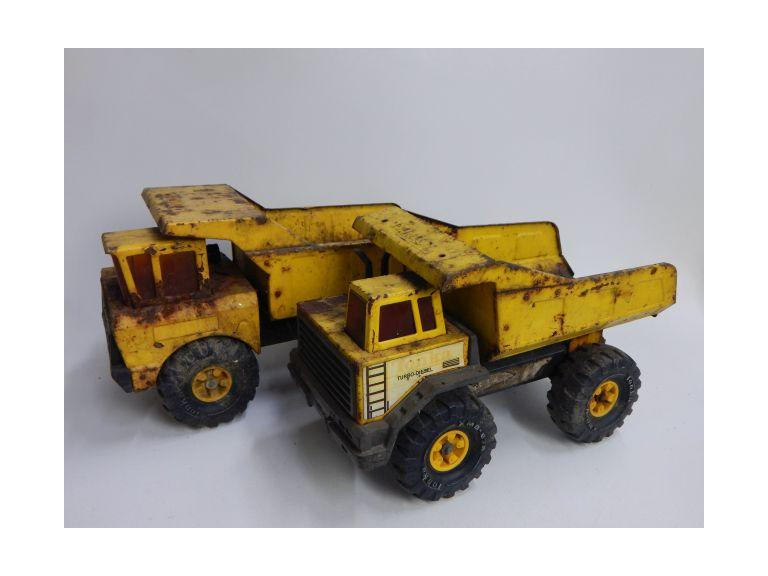 Old Tonka Dump Trucks
