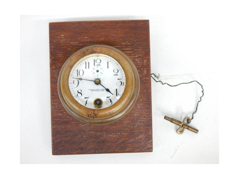 Antique New Haven Automobile Clock