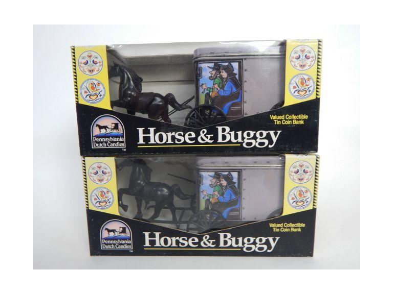 Horse & Buggy Coin Banks