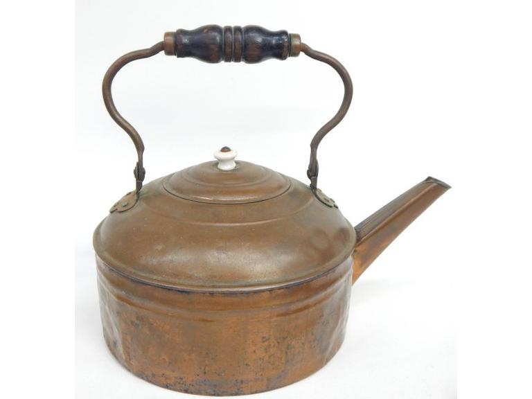 Old Brass Water Kettle