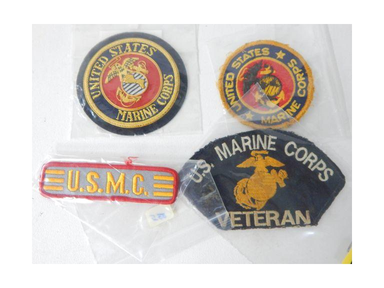 Collection of Marine Corps Patches